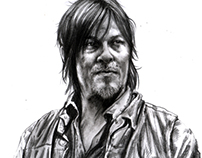 Walking Dead Portraits
