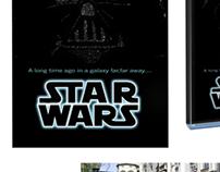 """Star Wars"" Movie Poster Redesign"