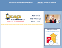 OMEGA Learning HTML email template