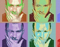 Heath Ledger Pop Art