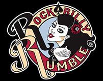 Logodesign Rockabilly Rumble