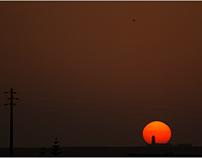 Cabo de São Vicente: pôr do sol