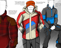 Mens Winter Apparel and Casual Wear