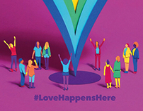 #LoveHappensHere Collaboration
