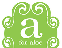 a for aloe/ product design