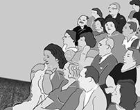 The audience (Umm Kulthum)