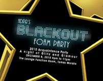 Blackout Foam Party (2010 ADPR Acquaintance Party)