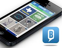 Busted Tees IOS App Design