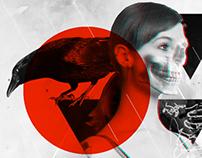 A mulher e o corvo
