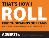 Adverts.ie Dart Campaign