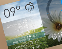 widget android alarme