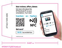 HP's Fact Tag Extender NFC Pilot - Staples/Microcenter