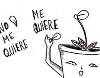 Plants. Comic strip serie.