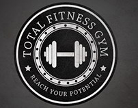 Total Fitness Gym Logo