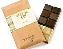 koko black - origins packaging