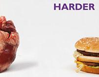 Anti Junk Food Posters
