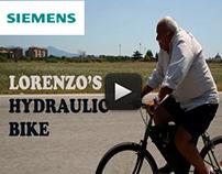 SIEMENS – Lorenzo's hydraulic bike