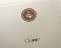 LOGO QUEEN COFFEE