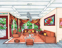 perspective drawings (2011)