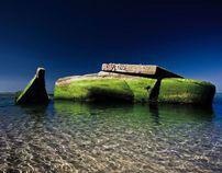 beach bunkers