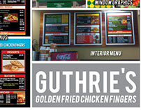 Guthrie's Golden Fried Chicken Fingers