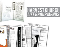 Harvest Church Life Group Menu Books