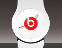 Beats by Dr.Dre concept watch
