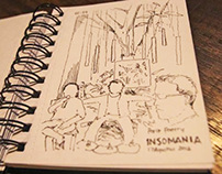 Sketchbook - 1NSOMANIA Live Sketch