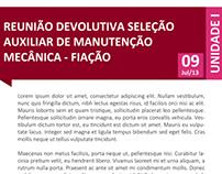 Novos informativos - Vicunha Têxtil S/A