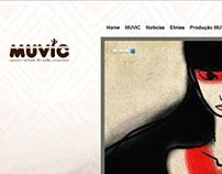 Desenvolvimento do MUVIC.com.br