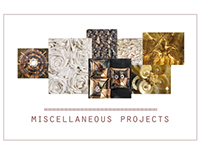 MISCELLANEOUS TEXTILE PROJECTS