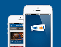 StubHub iPhone App Concept