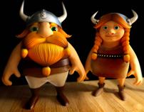 Characters Vikings