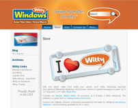Witty Windows - Website