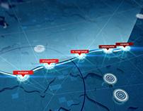 RZD rail map