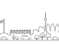 New Baku silhouette