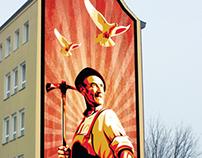 Mural design concept - Nordstadt Dortmund