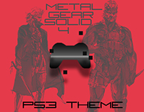 Metal Gear Solid 4 PS3 Theme