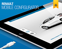 Renault retail configurator for IPad