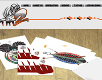 Tattoo company Web interactive pages Design
