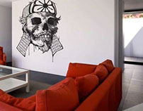 Wall Stickers by Andreas Preis in Arty Walrus