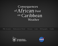 NASA - Consequences of African Dust on Caribbean Weathe