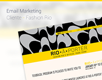 Email Marketing - Rio-à-Porter - Cliente: Fashion Rio