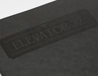 Elevator 32: Typeface Design