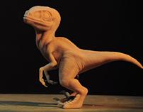 Baby Raptor Figure