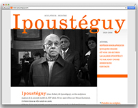 Site officiel du sculpteur et peintre Ipoustéguy