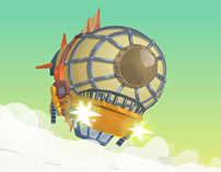 SteamPunk Blimp: Adventure Race
