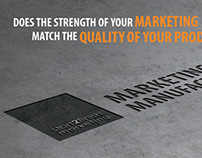 Marketing for Manufacturing Campaign