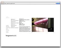 Site de l'agence Fois Gaetani, architecture et paysage