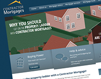 Contractor Mortgages Website Development